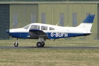 G-BUFH @ EGHH - Piper PA-28-161 at Bournemouth