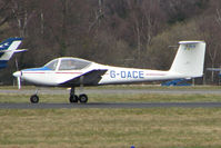 G-OACE @ EGHH - Motorised Glider at Bournemouth - by Terry Fletcher
