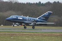 G-FFRA @ EGHH - FRA Falcon 20 at Bournemouth