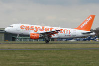 HB-JZK @ EGHH - Swiss Easyjet A319 takes off from Bournemouth