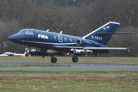 G-FRAR @ EGHH - FRA Falcon 20 at Bournemouth