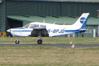 G-BPJO @ EGHH - Piper PA-28-161 at Bournemouth