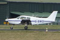 G-BWOI @ EGHH - Piper PA-28-161 at Bournemouth
