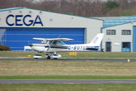 G-BOTG @ EGHH - Donair C152 departing Bournemouth back to its East Midlands base