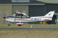 G-BAZT @ EGHH - Cessna 172M at Bournemouth