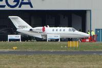 N525FD @ EGHH - Cessna 525 outside the Cega Hangar at Bournemouth