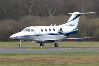 G-OMJC @ EGHH - Raytheon RB390 Premier about to depart Bournemouth
