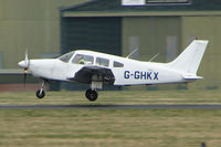 G-GHKX @ EGHH - Piper PA-28-161 at Bournemouth