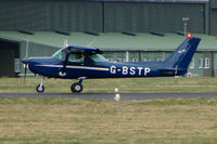 G-BSTP @ EGHH - Cessna 152 at Bournemouth