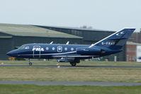 G-FRAF @ EGHH - FRA Falcon 20 at Bournemouth