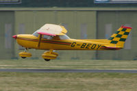 G-BEOY @ EGHH - Cessna 150L at Bournemouth