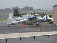 N1748D @ CMA - 1951 Cessna 170A, Continental C145 145 Hp - by Doug Robertson