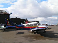 G-EEVA @ EGTR - Different col scheme on this early Aztec - by Andy Parsons