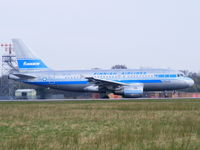 OH-LVE @ EGCC - Finnair - by Chris Hall
