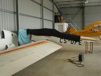 CS-UFE @ LPBR - Homemade airplane at Braga - by ze_mikex