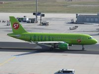 VP-BHG @ EDDF - Airbus A319-114 of S7 Siberia Airlines in front of terminal 2