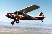 N3266M @ RIW - N3266M Flying over Riverton Regional Airport - by Randy JOhnson