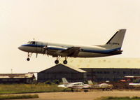 G-BMPA @ EGFF - DEPARTING CARDIFF INTERNATIONAL 1992 - by BIKE PILOT