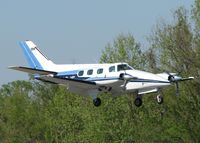N123JF @ DTN - Landing on 14 at the Shreveport Downtown airport. - by paulp