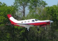 N225MC @ DTN - About to touch down on 14 at the Shreveport Downtown airport. - by paulp