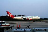 G-VROS @ MCO - Virgin 747-400