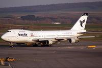 EP-IAH @ VIE - Iran Air Boeing 747-286B(M) - by Joker767