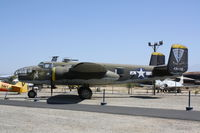 44-31032 @ KRIV - North American B-25J - by Mark Pasqualino