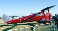 G-AEDU @ LFFQ - DeHavilland D.H.90A Dragonfly at the Meeting Aerien at La-Ferte-Alais, Cerny