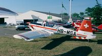 F-AZJF @ LFFQ - Hirth HI-27 Acrostar Mk II at the Meeting Aerien at La-Ferte-Alais, Cerny