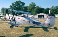 F-BBQP @ LFFQ - Stampe (Nord) SV-4C at the Meeting Aerien at La-Ferte-Alais, Cerny