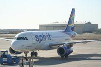 N534NK @ DTW - Spirit A319