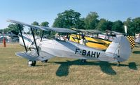 F-BAHV @ LFFQ - Stampe (Nord) SV-4C at the Meeting Aerien at La-Ferte-Alais, Cerny