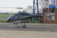 N351RH @ EGTC - Bell 206B at Cranfield