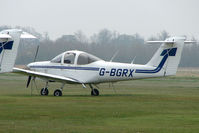 G-BGRX @ EGNX - Piper Tomahawk at Cranfield