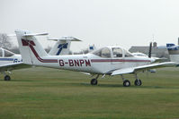 G-BNPM @ EGTC - Piper Tomahawk at Cranfield