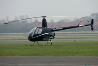 G-BUBW @ EGTC - Robinson R22 Beta at Cranfield
