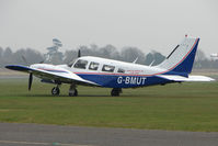 G-BMUT @ EGTC - Piper PA-34-200T at Cranfield