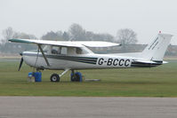 G-BCCC @ EGTC - Cessna F150L at Cranfield