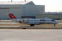 N801AY @ DTW - Pinnacle CRJ-200