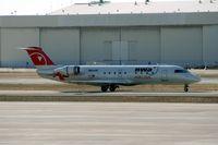 N8444F @ DTW - Pinnacle CRJ-200