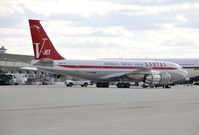N707JT @ IAD - A surprise visitor to KIAD - by concord977