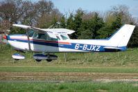 G-BJXZ @ EGBT - Derby based Cessna 172N landing at Turweston - by Terry Fletcher