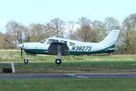 N38273 @ EGBT - Piper Pa-28RT-201T at Turweston