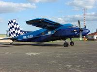HA-ACO - Dornier Do-28 Skyservant at Weston-on-the - Green for the 2009 Skydiving Season