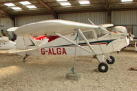 G-ALGA @ EGTN - Piper PA-15 at Enstone North