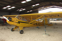 G-BJSZ @ EGTN - Piper Cub at Enstone North