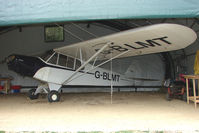 G-BLMT @ EGTN - Piper Cub at Enstone North