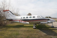 D-IFGW @ LOGG - Cessna 414 - by Yakfreak - VAP