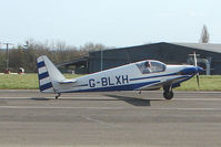 G-BLXH @ EGTN - 1964 Fournier RF3 at Enstone North