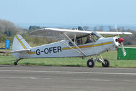 G-OFER - Piper Cub at Enstone South
